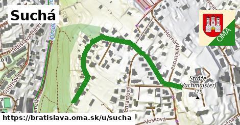 ilustrácia k Suchá, Bratislava - 561m