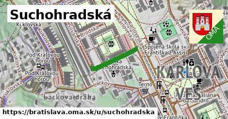 Suchohradská, Bratislava