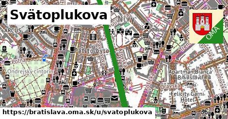 Svätoplukova, Bratislava