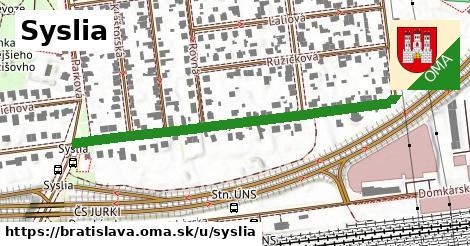 Syslia, Bratislava