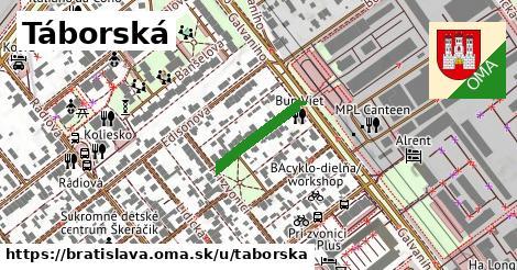 ilustrácia k Táborská, Bratislava - 159m
