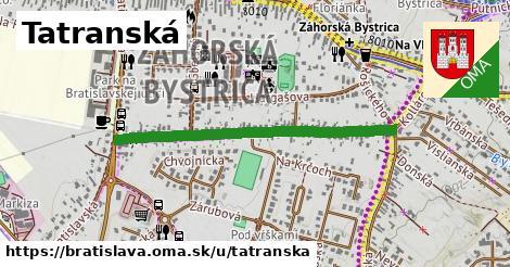 Tatranská, Bratislava
