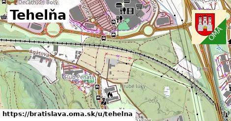 ilustrácia k Tehelná, Bratislava - 1,16km