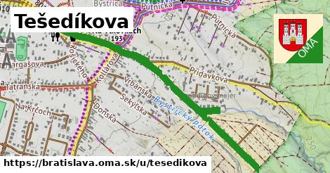 Tešedíkova, Bratislava