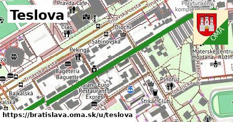Teslova, Bratislava