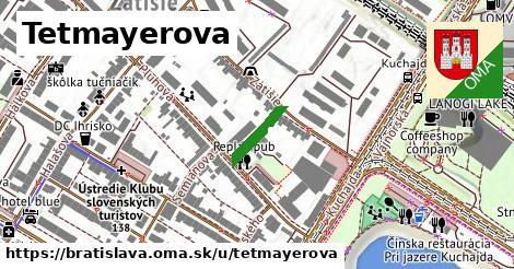 Tetmayerova, Bratislava