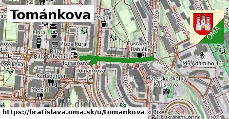 Tománkova, Bratislava