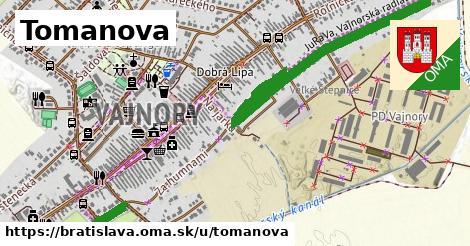 ilustrácia k Tomanova, Bratislava - 1,53km