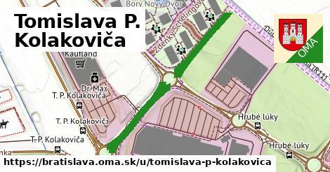 Tomislava P. Kolakoviča, Bratislava