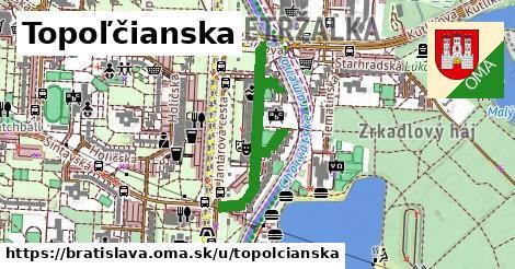 Topoľčianska, Bratislava