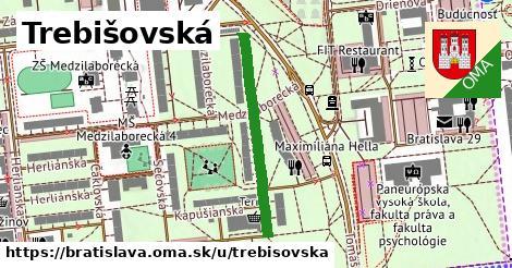 Trebišovská, Bratislava