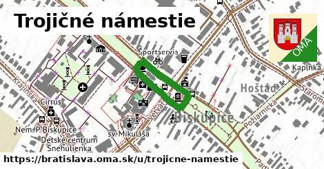 Trojičné námestie, Bratislava