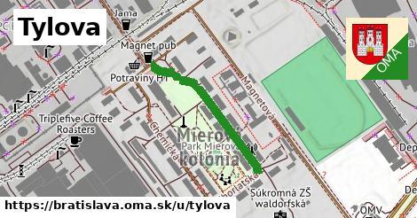ilustrácia k Tylova, Bratislava - 283m
