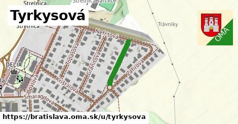 Tyrkysová, Bratislava
