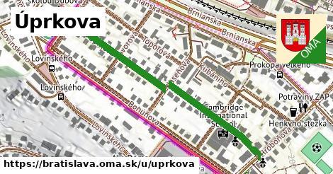 ilustrácia k Úprkova, Bratislava - 521m