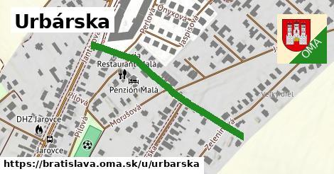 ilustrácia k Urbárska, Bratislava - 308m