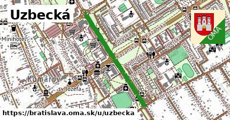 Uzbecká, Bratislava