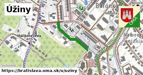 Úžiny, Bratislava