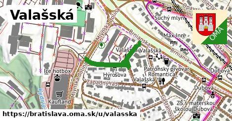 ilustrácia k Valašská, Bratislava - 278m