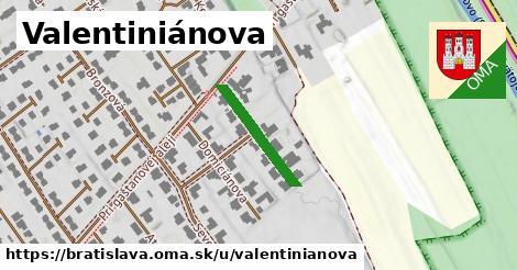 Valentiniánova, Bratislava