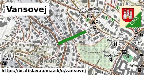 Vansovej, Bratislava