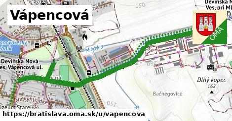 Vápencová, Bratislava
