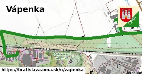 Vápenka, Bratislava