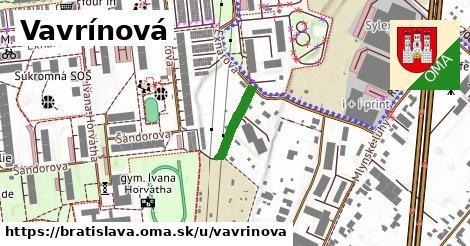 Vavrínová, Bratislava