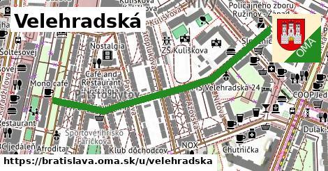 ilustrácia k Velehradská, Bratislava - 554m