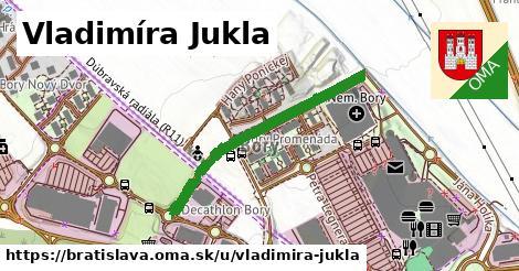 Vladimíra Jukla, Bratislava