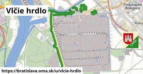 ilustrácia k Vlčie hrdlo, Bratislava - 7,3km