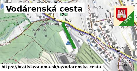 Vodárenská cesta, Bratislava