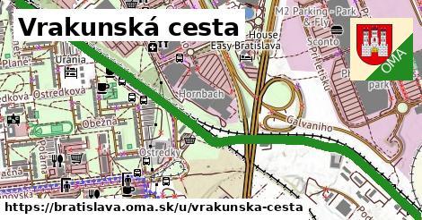 Vrakunská cesta, Bratislava