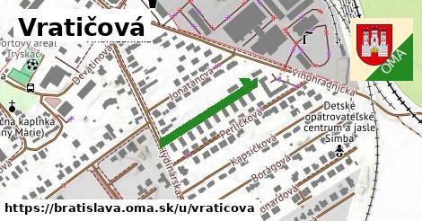 Vratičová, Bratislava