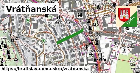 Vrátňanská, Bratislava