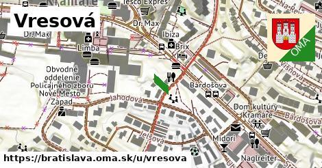 Vresová, Bratislava