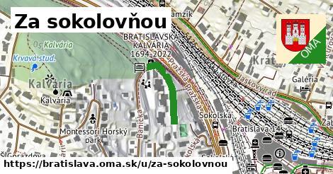 Za sokolovňou, Bratislava