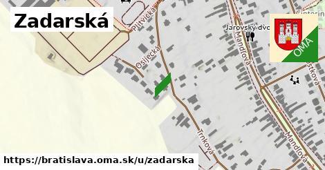 Zadarská, Bratislava