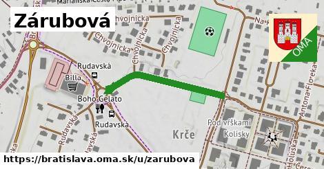Zárubová, Bratislava