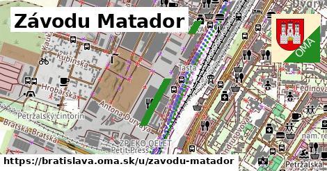 Závodu Matador, Bratislava
