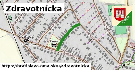 ilustrácia k Zdravotnícka, Bratislava - 205m