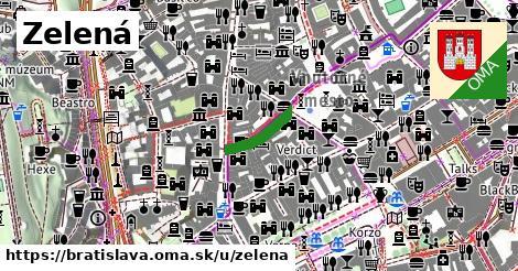 Zelená, Bratislava