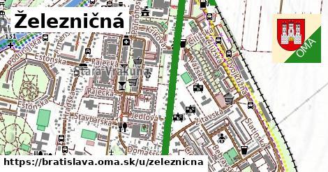 ilustrácia k Železničná, Bratislava - 1,61km
