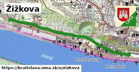 ilustrácia k Žižkova, Bratislava - 1,40km
