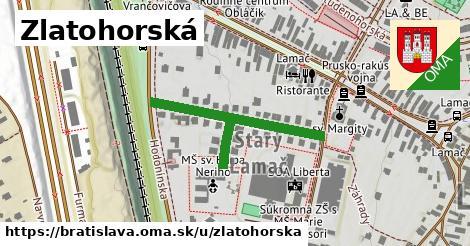 Zlatohorská, Bratislava