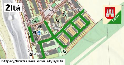 ilustrácia k Žltá, Bratislava - 1,08km