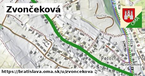 Zvončeková, Bratislava