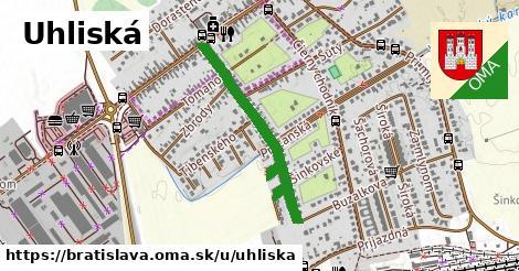 ilustračný obrázok k Uhliská, Bratislava