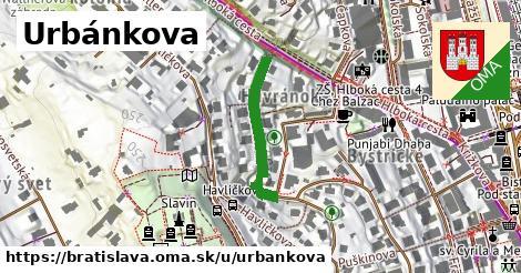 ilustrácia k Urbánkova, Bratislava - 234m