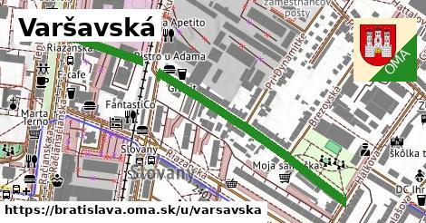 ilustračný obrázok k Varšavská, Bratislava